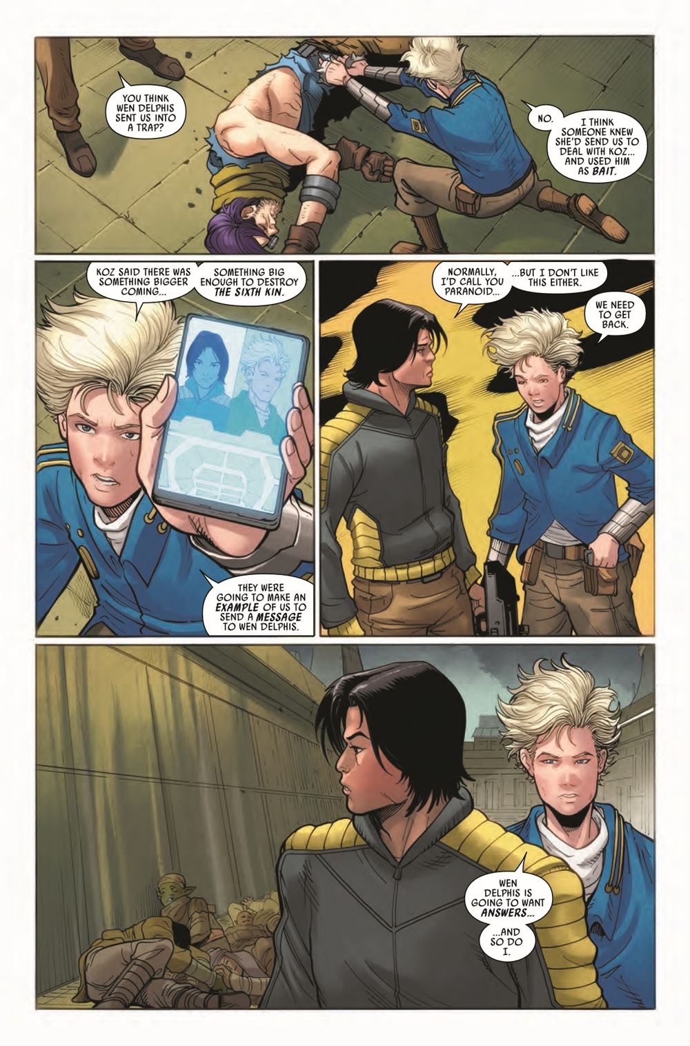 STWAPHRA2020010_Preview-5 ComicList Previews: STAR WARS DOCTOR APHRA #10