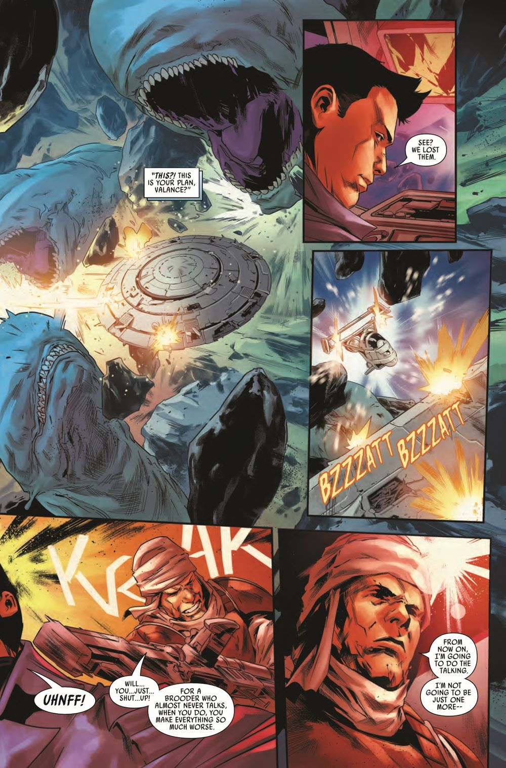 STWBOUNTYHUNT2020012_Preview-4 ComicList Previews: STAR WARS BOUNTY HUNTERS #12