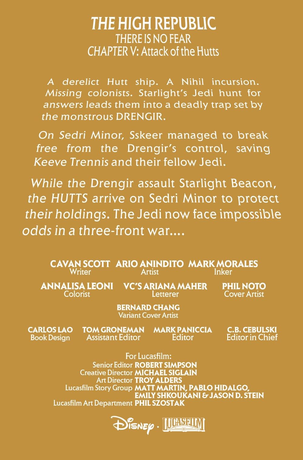 STWHIGHREP2021005_Preview-2 ComicList Previews: STAR WARS THE HIGH REPUBLIC #5