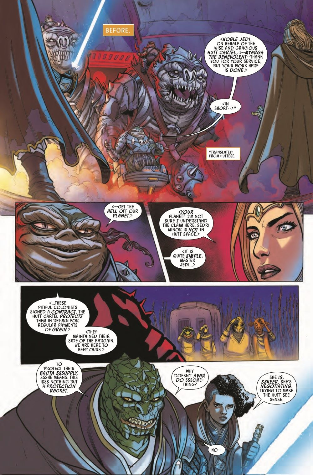 STWHIGHREP2021005_Preview-3 ComicList Previews: STAR WARS THE HIGH REPUBLIC #5