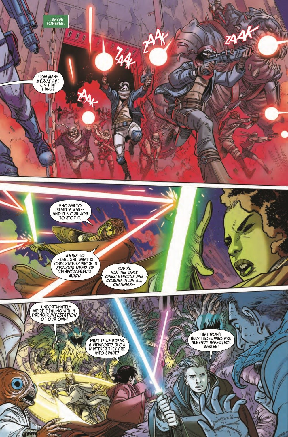STWHIGHREP2021005_Preview-6 ComicList Previews: STAR WARS THE HIGH REPUBLIC #5
