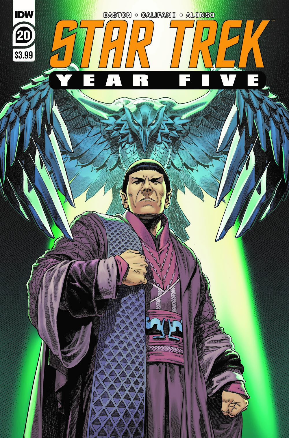 ST_YearFive20-cover ComicList Previews: STAR TREK YEAR FIVE #20