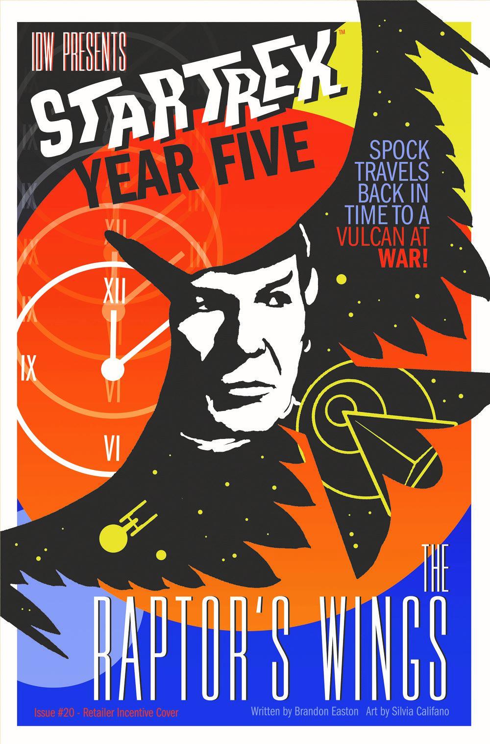 ST_YearFive20-coverRI ComicList Previews: STAR TREK YEAR FIVE #20
