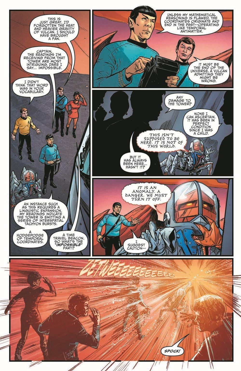 ST_YearFive20-pr-5 ComicList Previews: STAR TREK YEAR FIVE #20