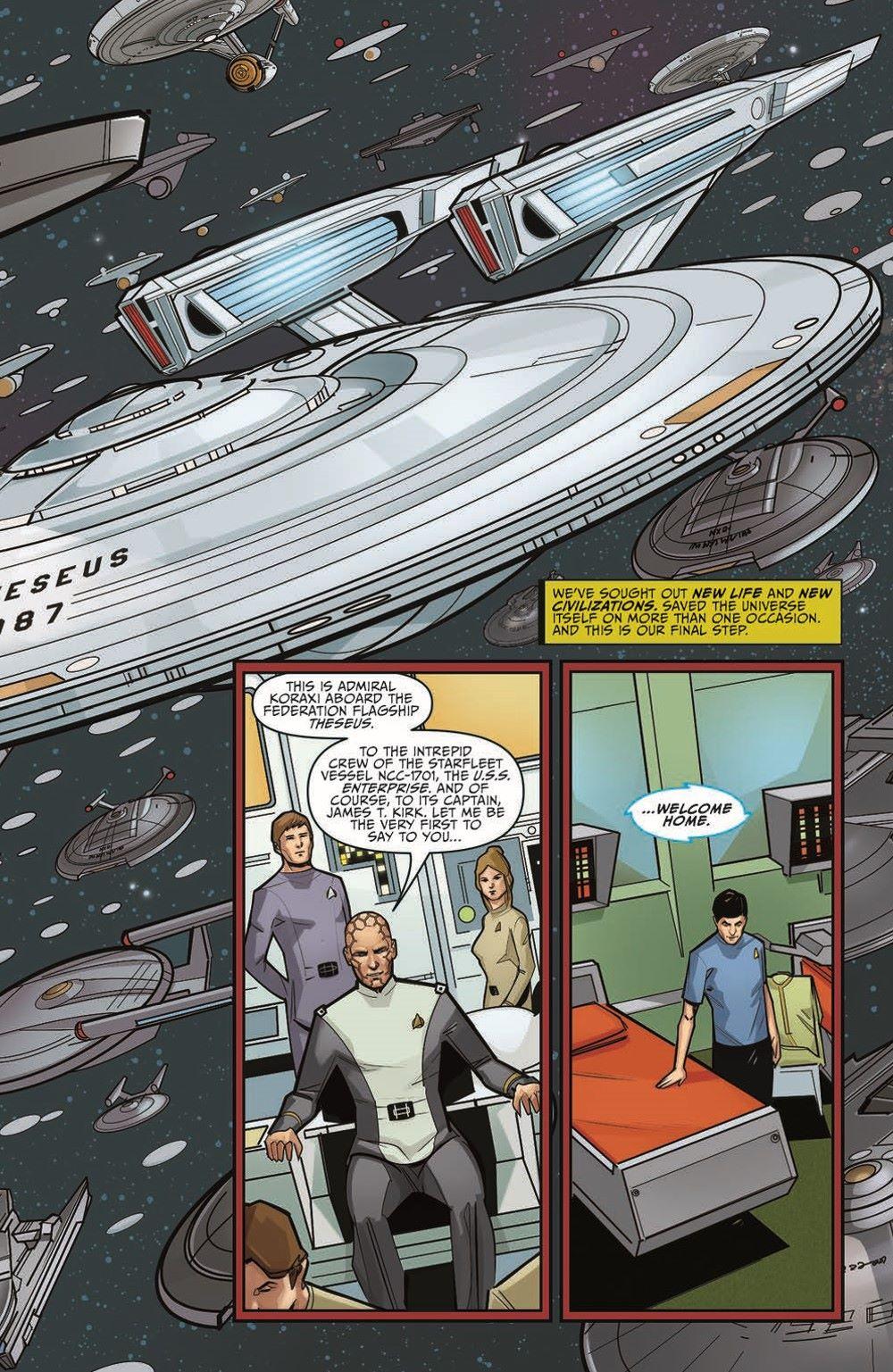 ST_YearFive_Vol3_pr-6 ComicList Previews: STAR TREK YEAR FIVE VOLUME 3 WEAKER THAN MAN TP
