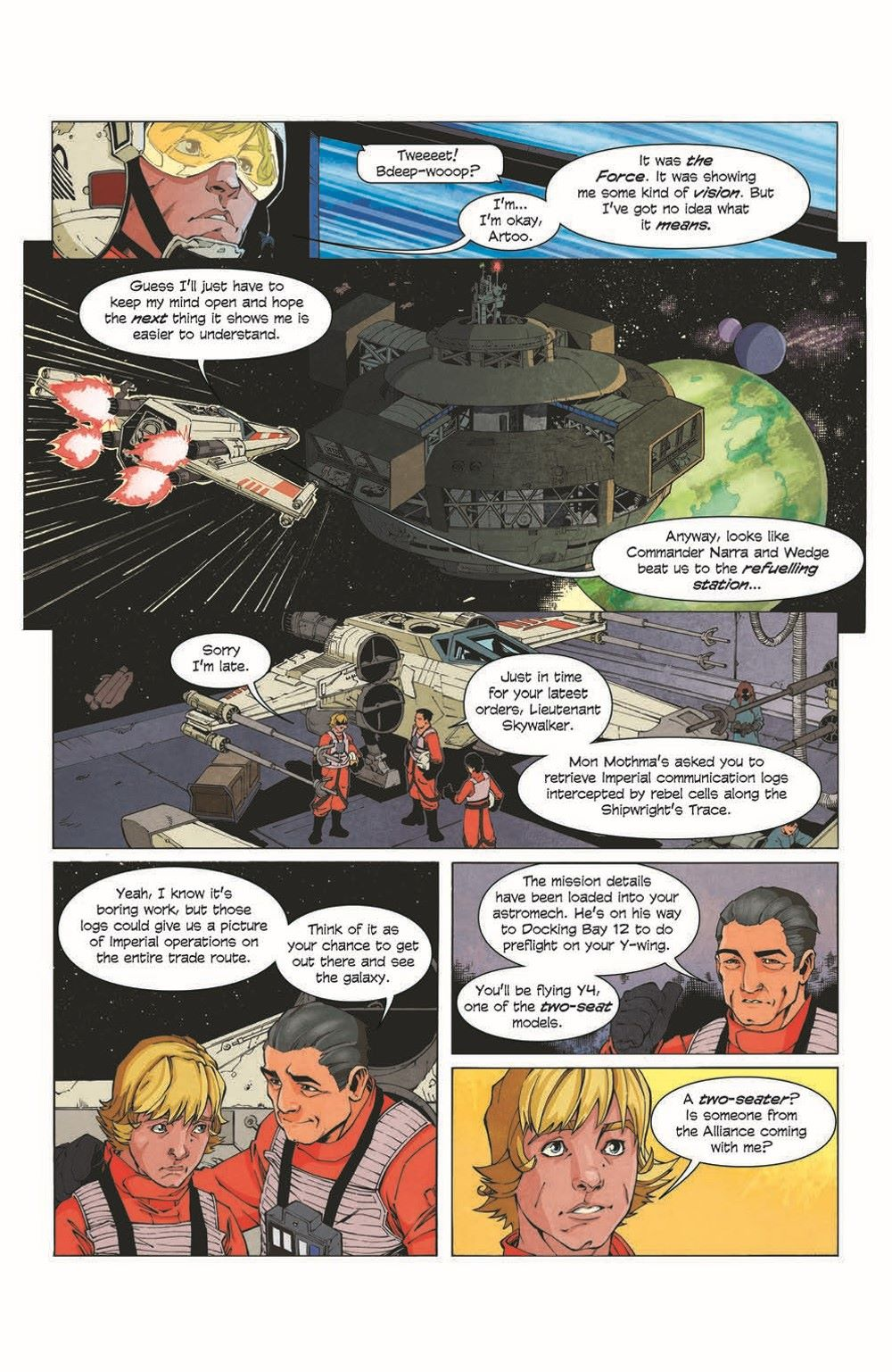 SWA_Weapons01_pr-7 ComicList Previews: STAR WARS ADVENTURES THE WEAPON OF A JEDI #1 (OF 2)