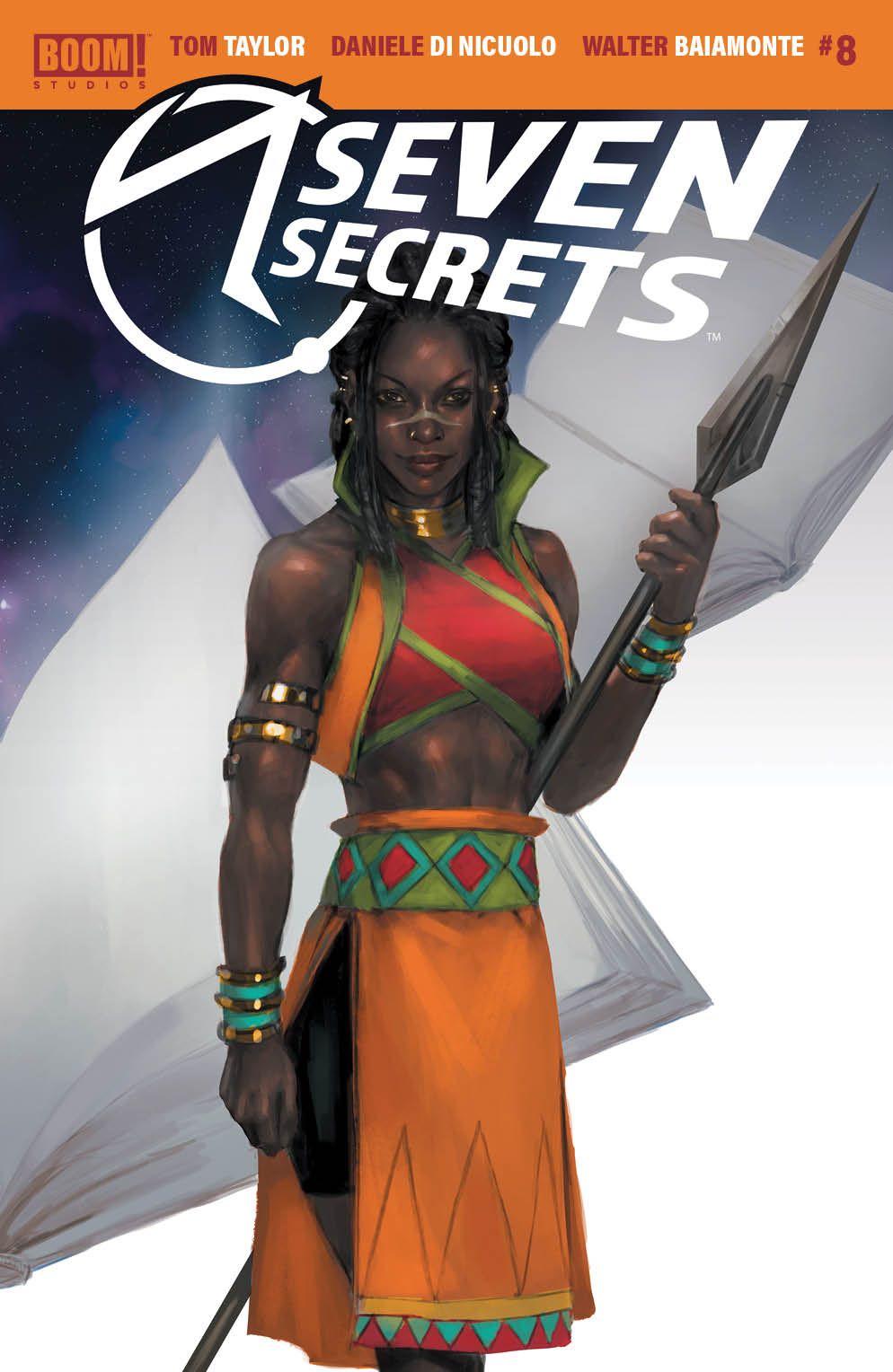 SevenSecrets_008_Cover_C_Connecting ComicList Previews: SEVEN SECRETS #8