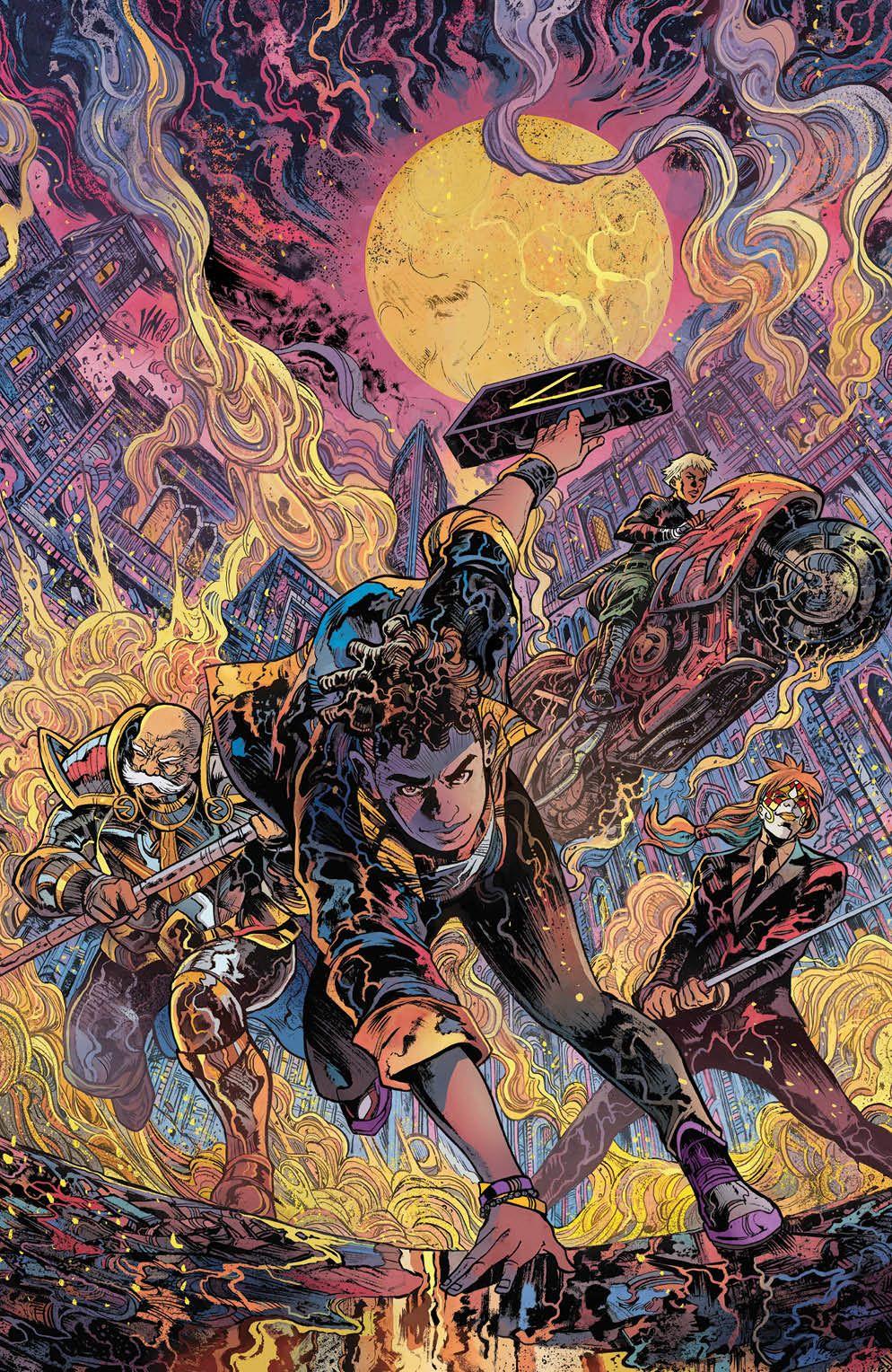 SevenSecrets_008_Cover_D_Variant ComicList Previews: SEVEN SECRETS #8