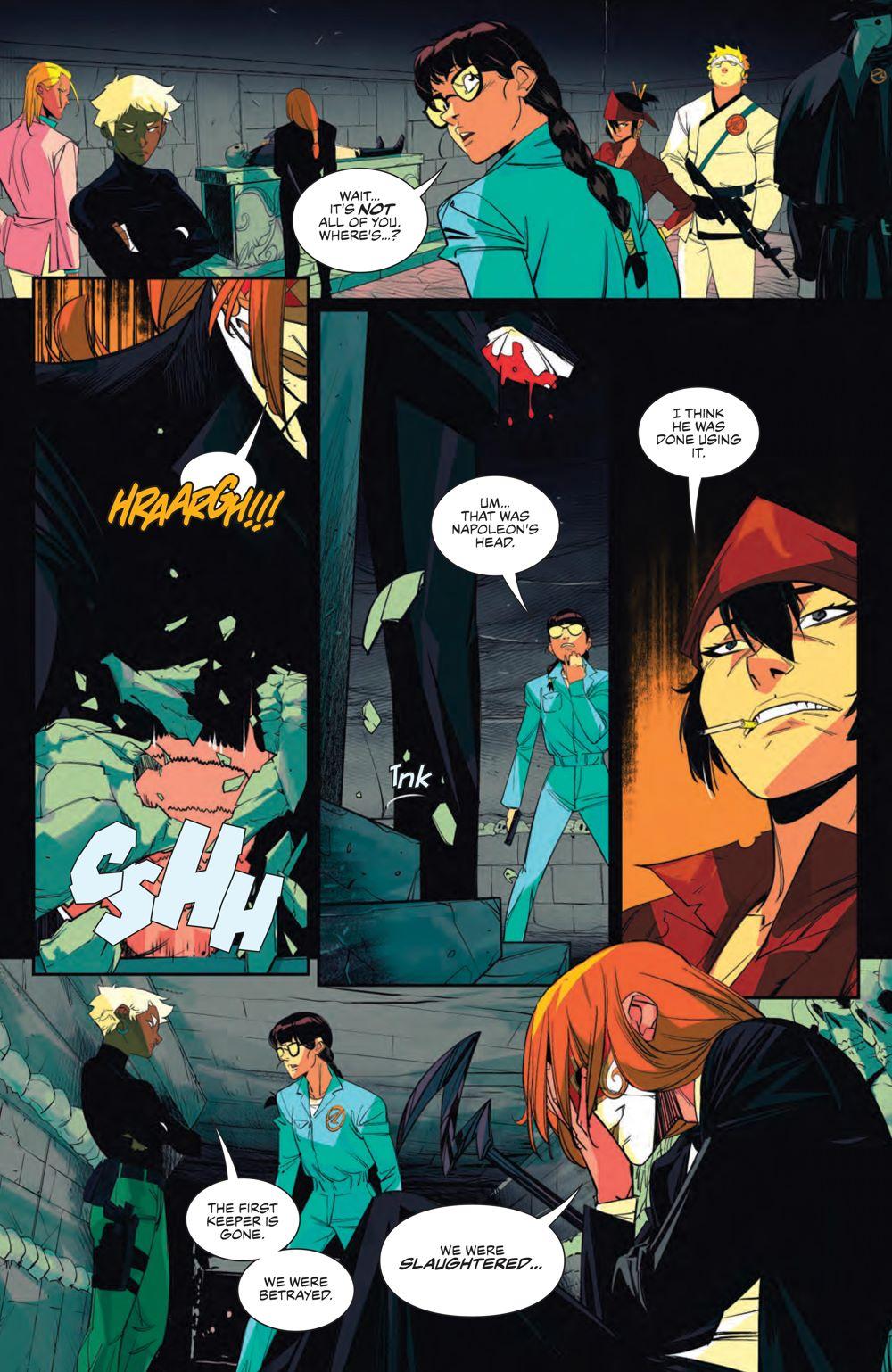 SevenSecrets_008_PRESS_8 ComicList Previews: SEVEN SECRETS #8