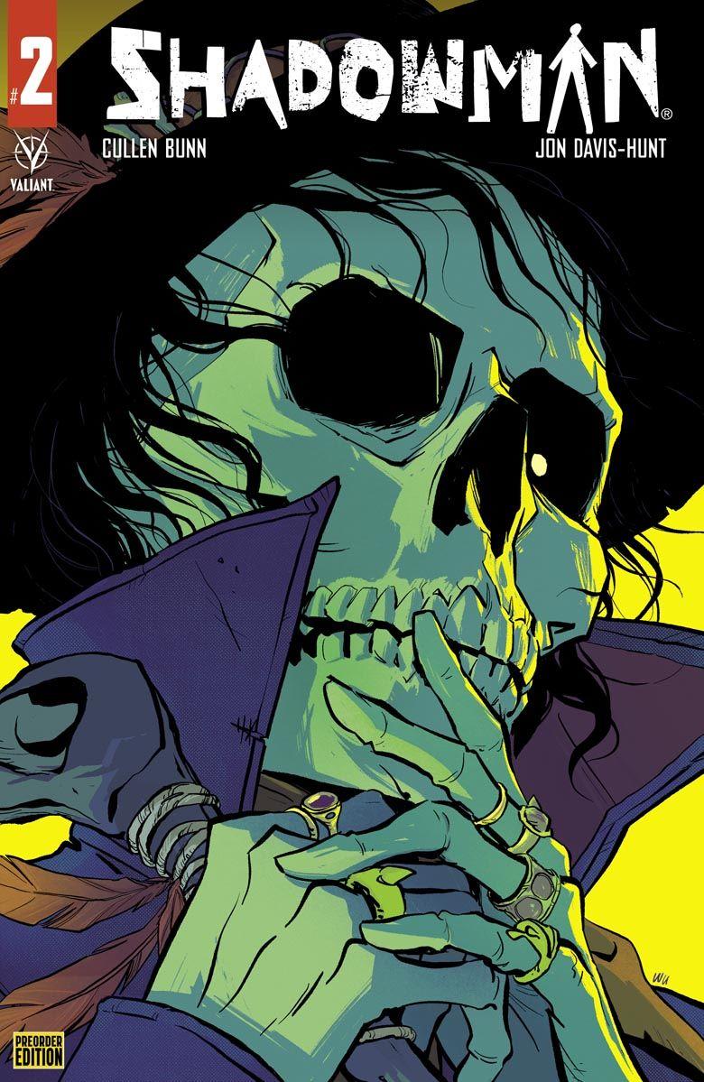 Shadowman_02_PreOrder ComicList Previews: SHADOWMAN #2