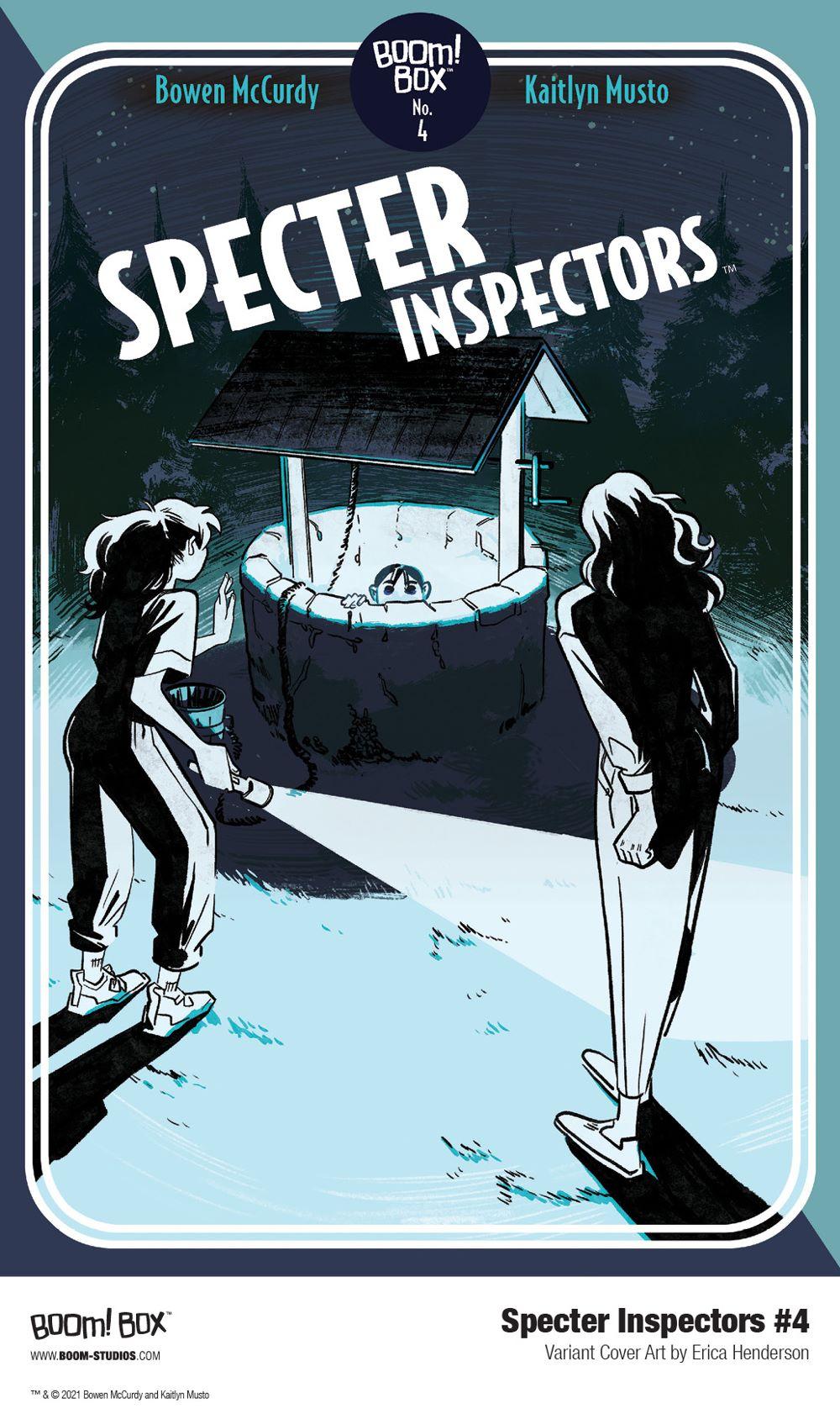SpecterInspectors_004_Cover_Variant_Henderson_PROMO First Look at SPECTER INSPECTORS #4 from BOOM! Studios