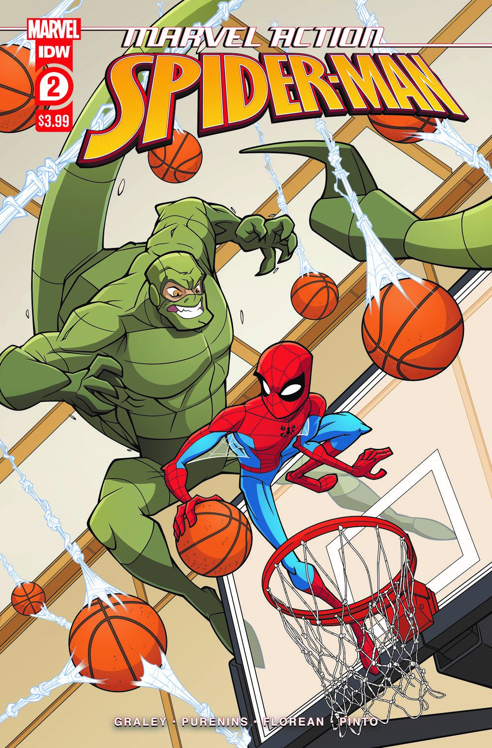 SpidermanV3-02_cvrA ComicList: IDW Publishing New Releases for 05/12/2021