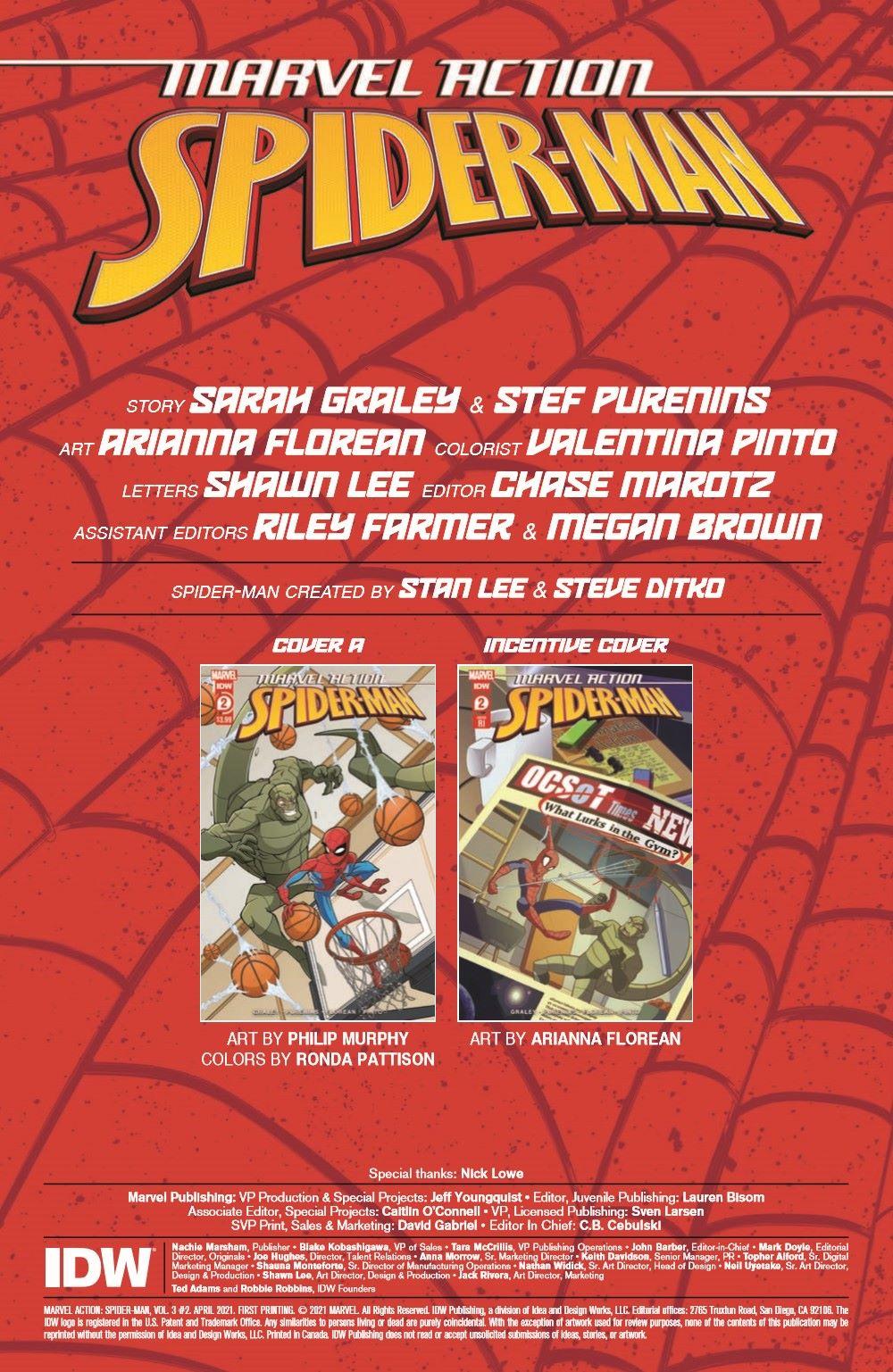 SpidermanV3-02_pr-2 ComicList Previews: MARVEL ACTION SPIDER-MAN VOLUME 3 #2