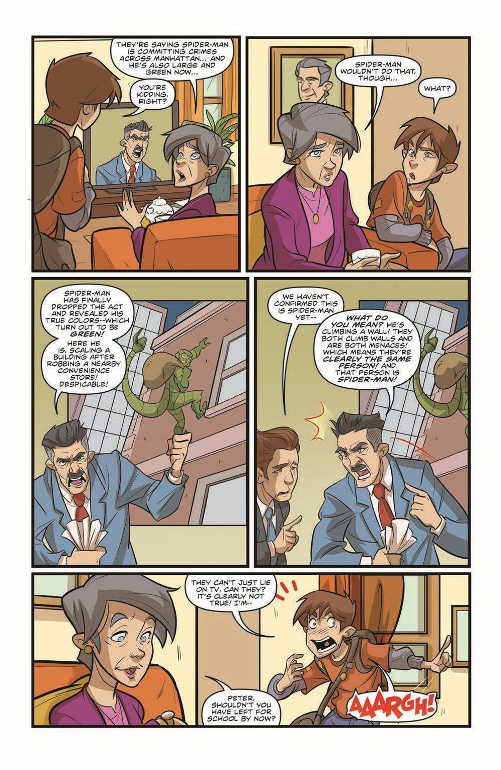 SpidermanV3-02_pr-4 ComicList Previews: MARVEL ACTION SPIDER-MAN VOLUME 3 #2