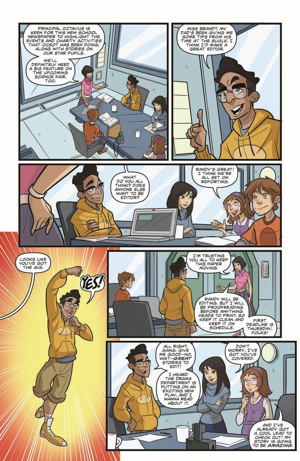 SpidermanV3-02_pr-6 ComicList Previews: MARVEL ACTION SPIDER-MAN VOLUME 3 #2