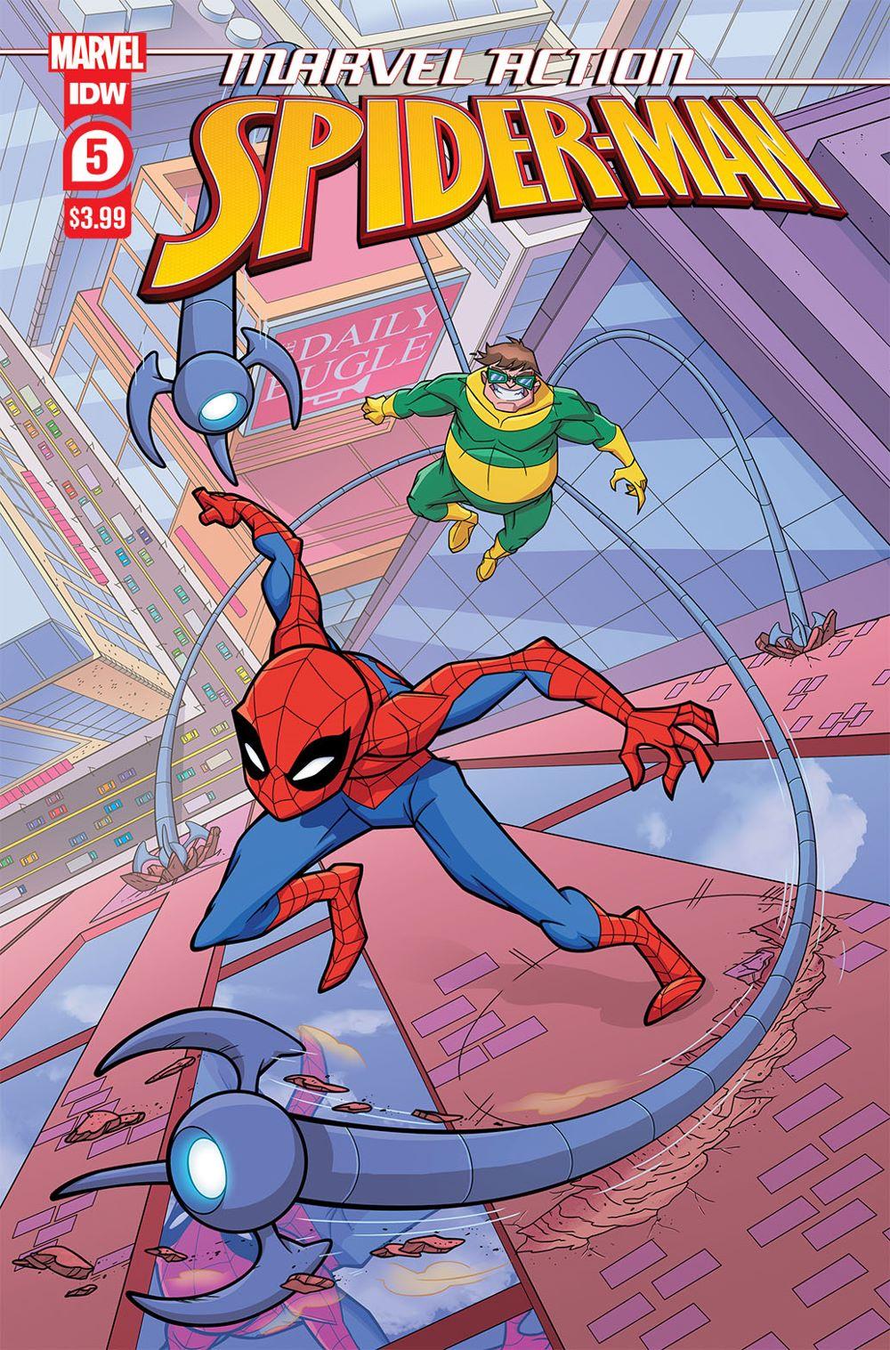 SpidermanV3-05_cvrA-copy IDW Publishing August 2021 Solicitations