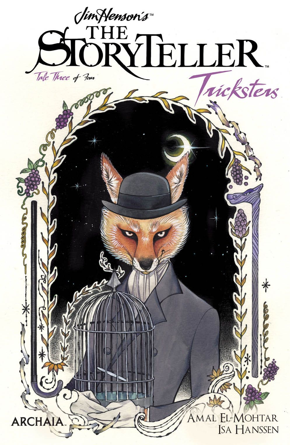 StorytellerTricksters_003_Cover_A_Main ComicList Previews: JIM HENSON'S THE STORYTELLER TRICKSTERS #3 (OF 4)