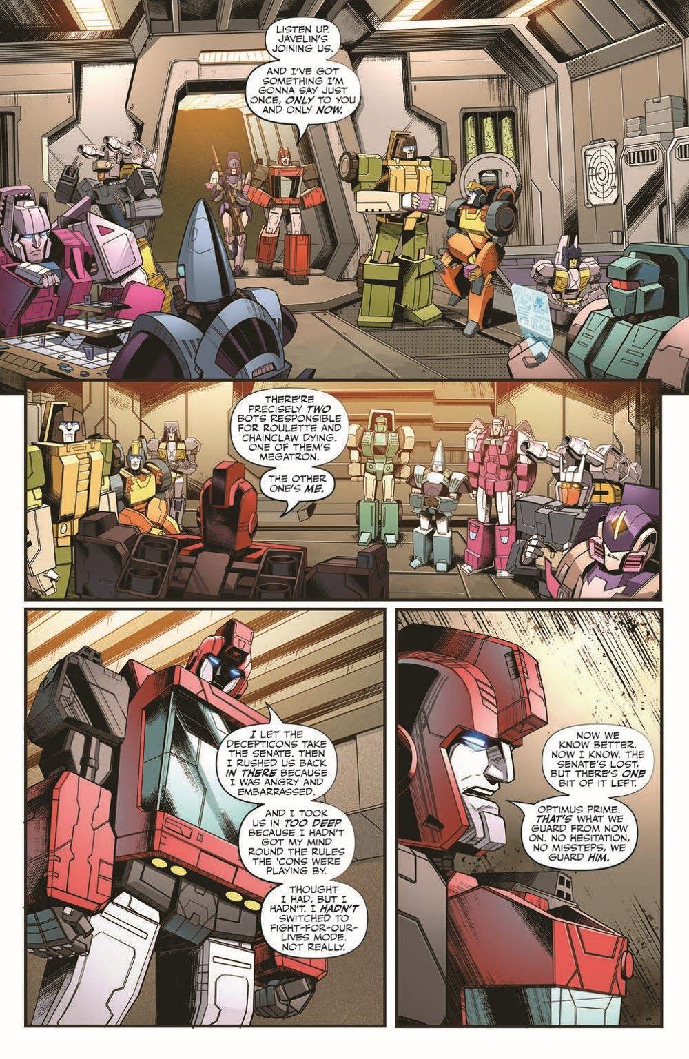 TF2019_29-pr-5 ComicList Previews: TRANSFORMERS #29