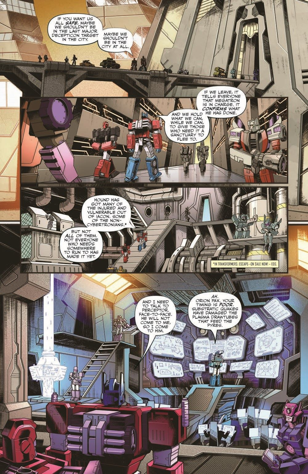 TF2019_29-pr-7 ComicList Previews: TRANSFORMERS #29