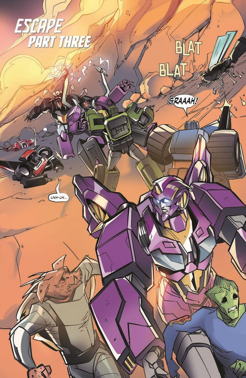 TFEscape03-pr-3 ComicList Previews: TRANSFORMERS ESCAPE #3 (OF 5)