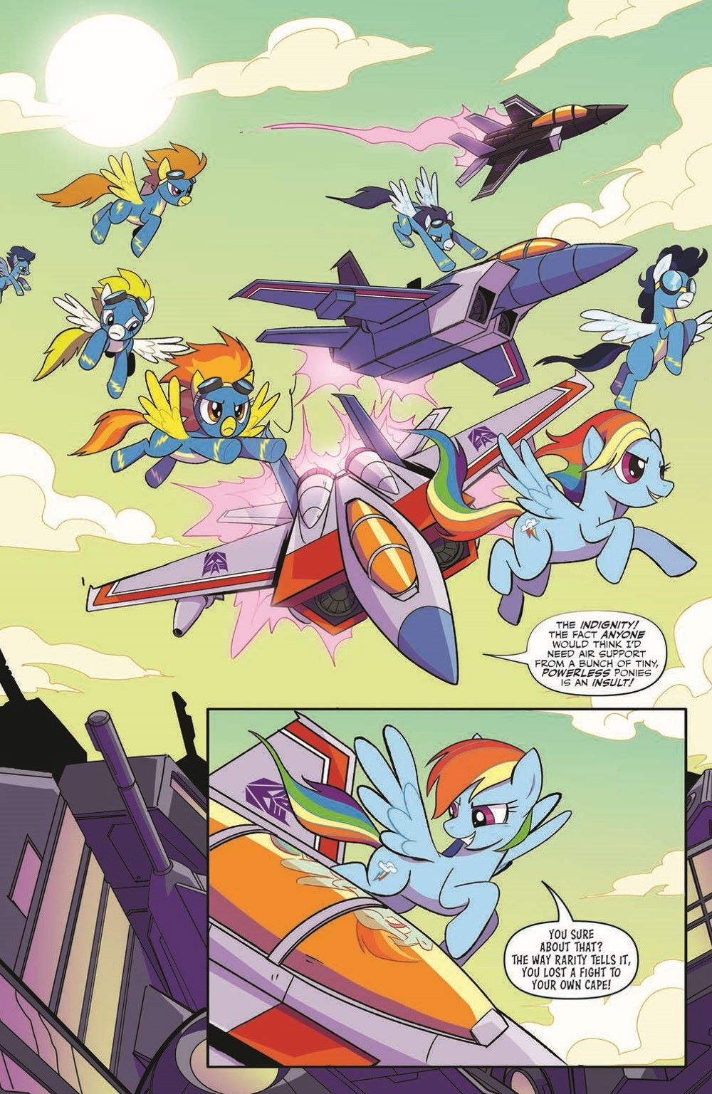 TFMLP2-02-pr-3 ComicList Previews: MY LITTLE PONY TRANSFORMERS II #2 (OF 4)
