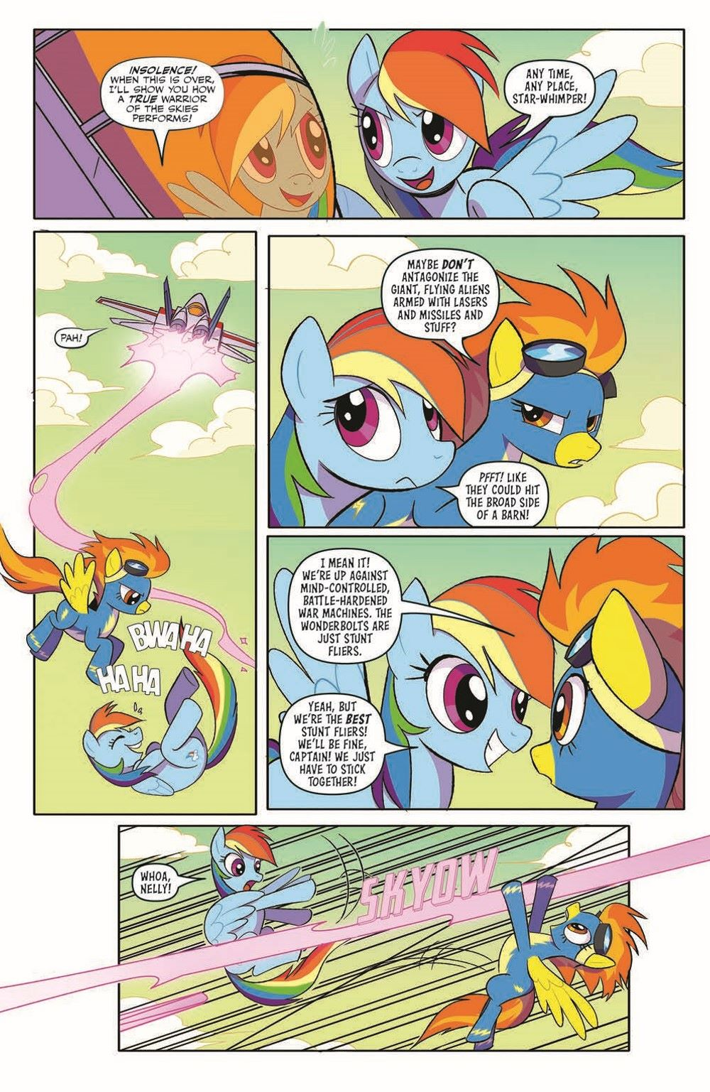 TFMLP2-02-pr-4 ComicList Previews: MY LITTLE PONY TRANSFORMERS II #2 (OF 4)