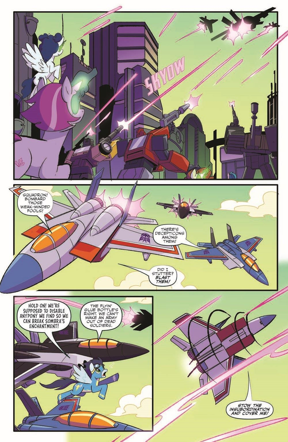 TFMLP2-02-pr-5 ComicList Previews: MY LITTLE PONY TRANSFORMERS II #2 (OF 4)