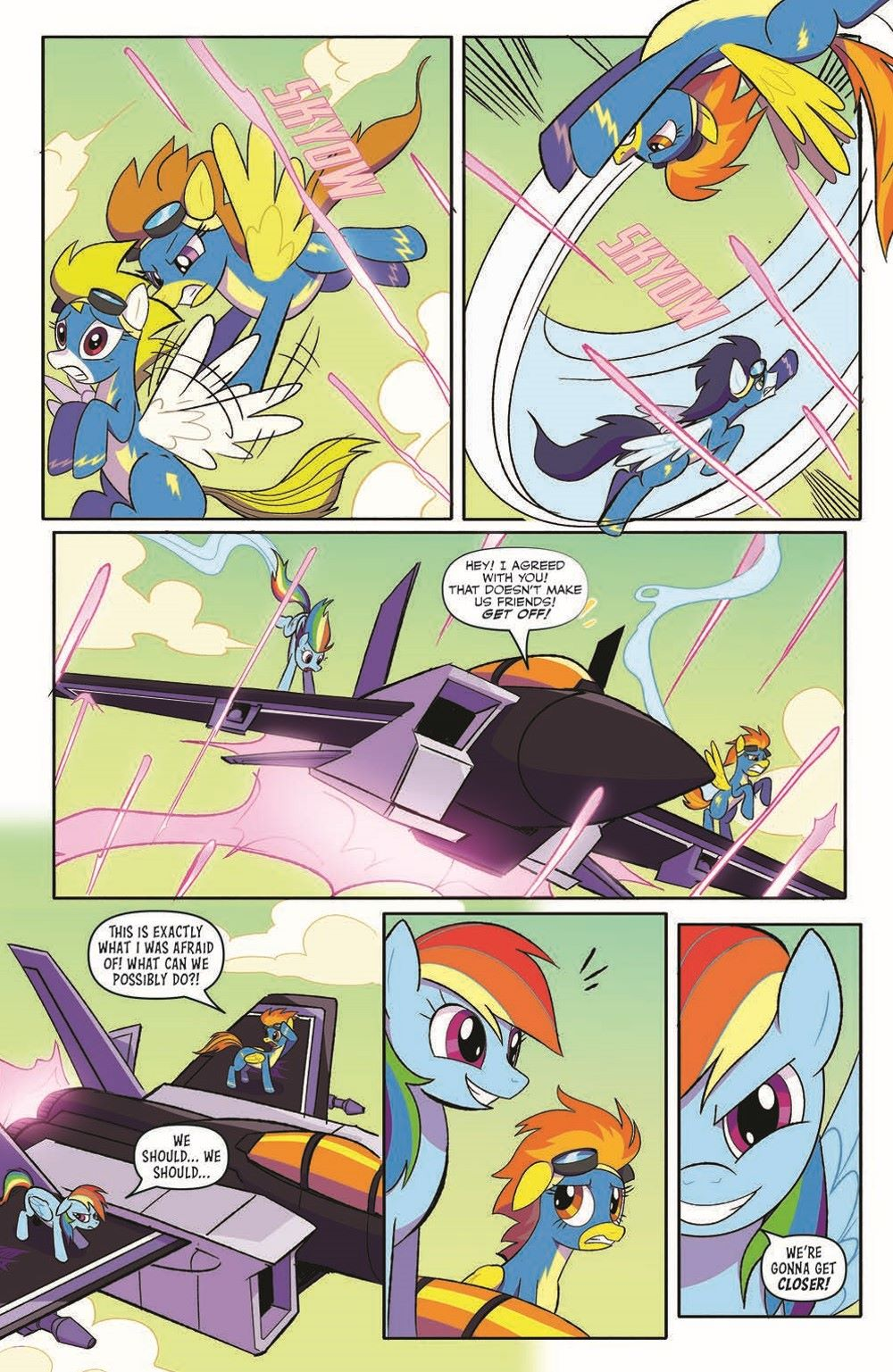 TFMLP2-02-pr-6 ComicList Previews: MY LITTLE PONY TRANSFORMERS II #2 (OF 4)