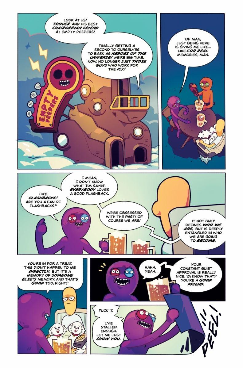 Trover_0015_c6815a0147f8285e3b5042ebb3626151 TROVER SAVES THE UNIVERSE becomes a comic book miniseries