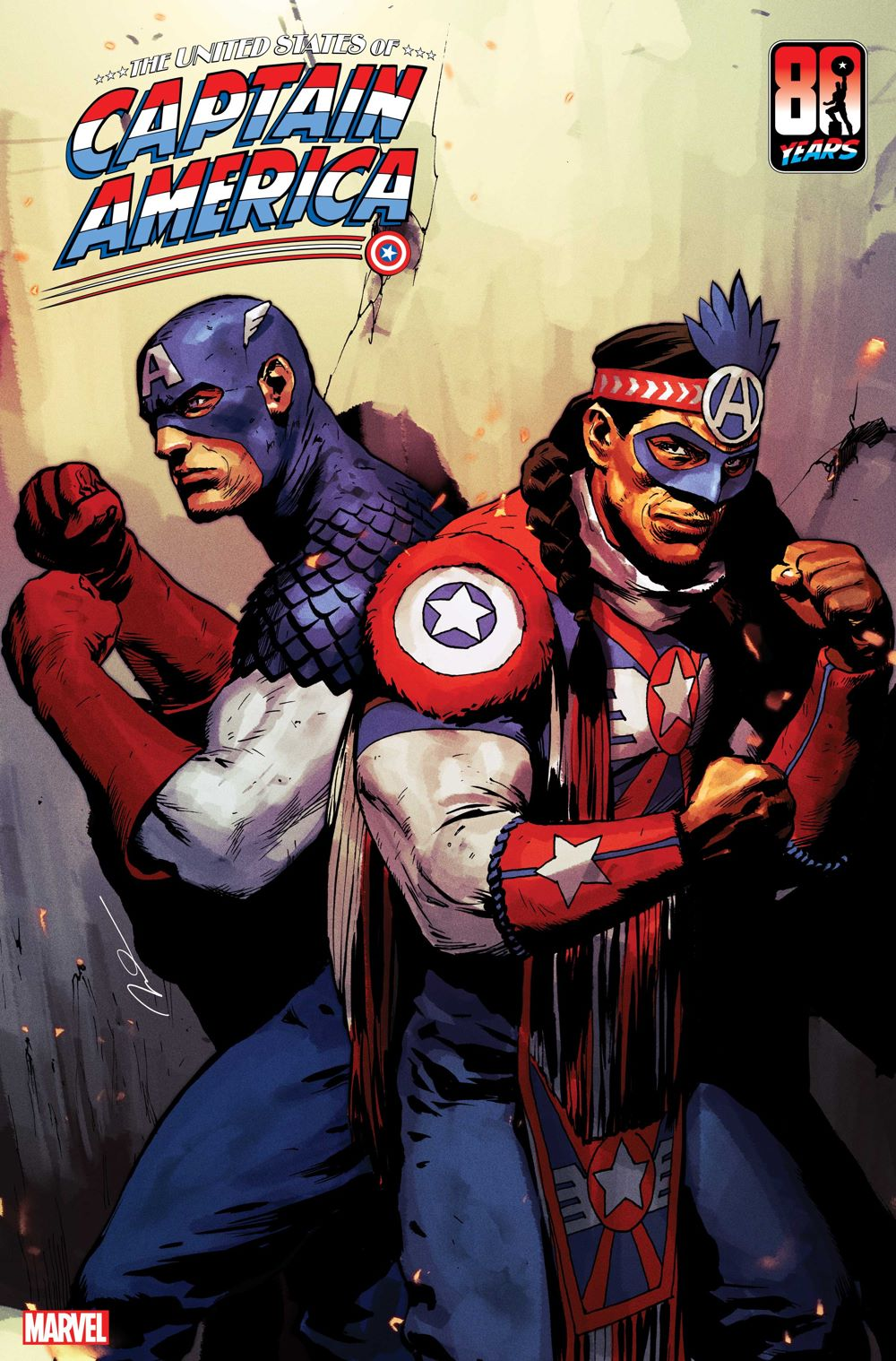 USCAPA2021003_Cov THE UNITED STATES OF CAPTAIN AMERICA #3 introduces Kickapoo Tribe character