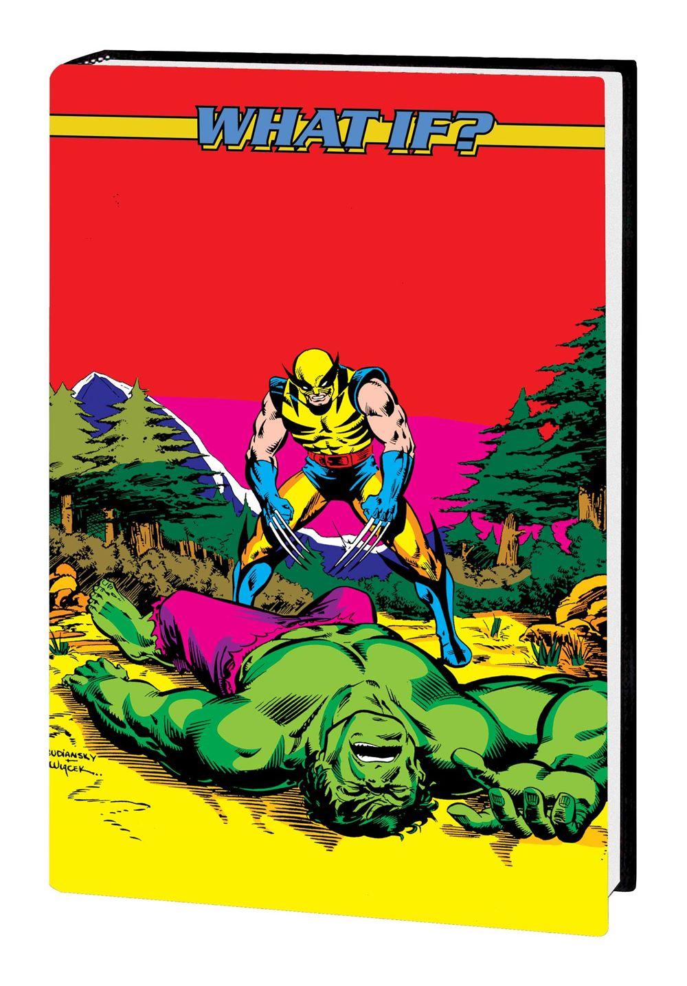 WHAOMSOMNI_V2_HC_COV1 Marvel Comics August 2021 Solicitations