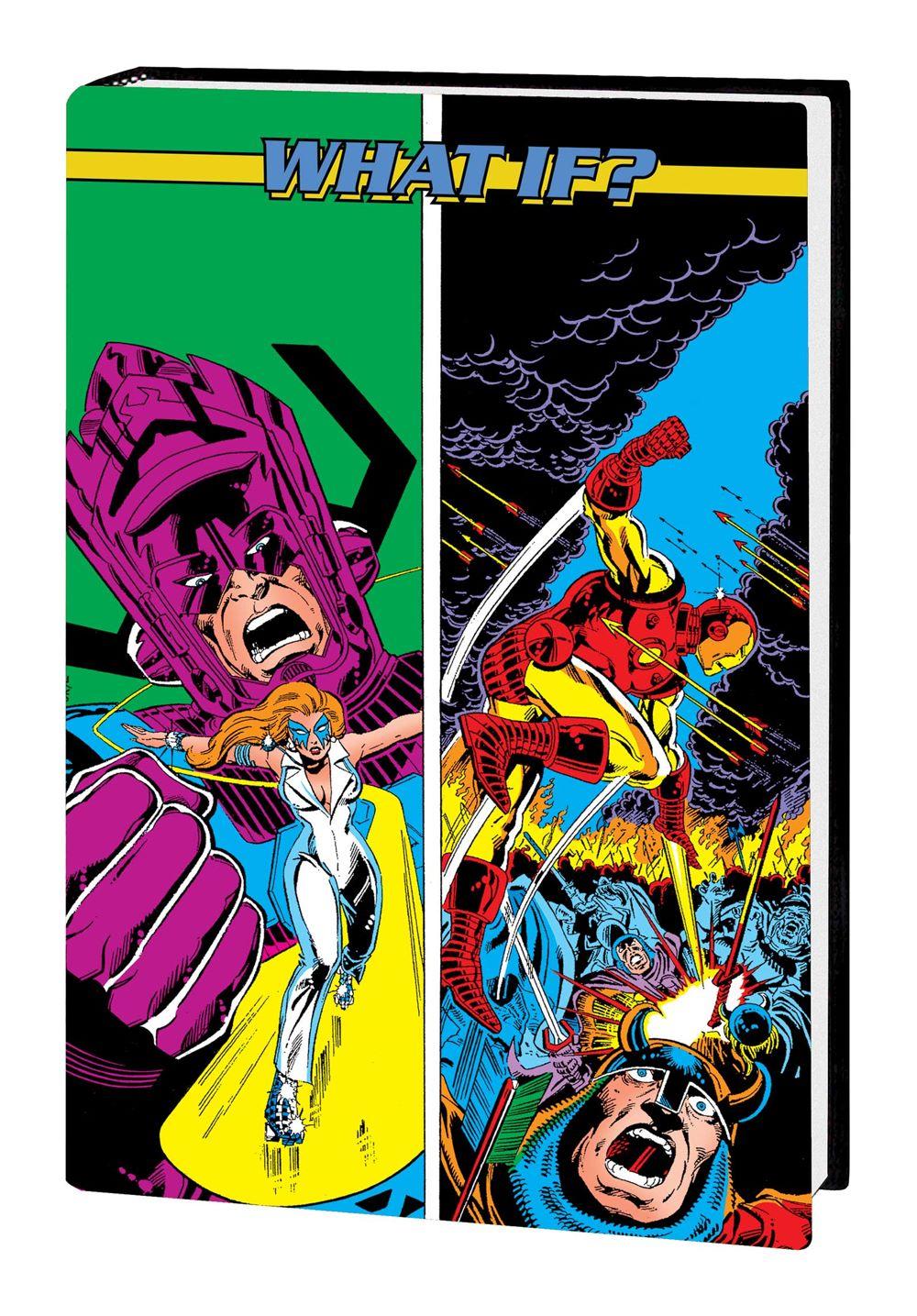 WHAOMSOMNI_V2_HC_DM_1 Marvel Comics August 2021 Solicitations