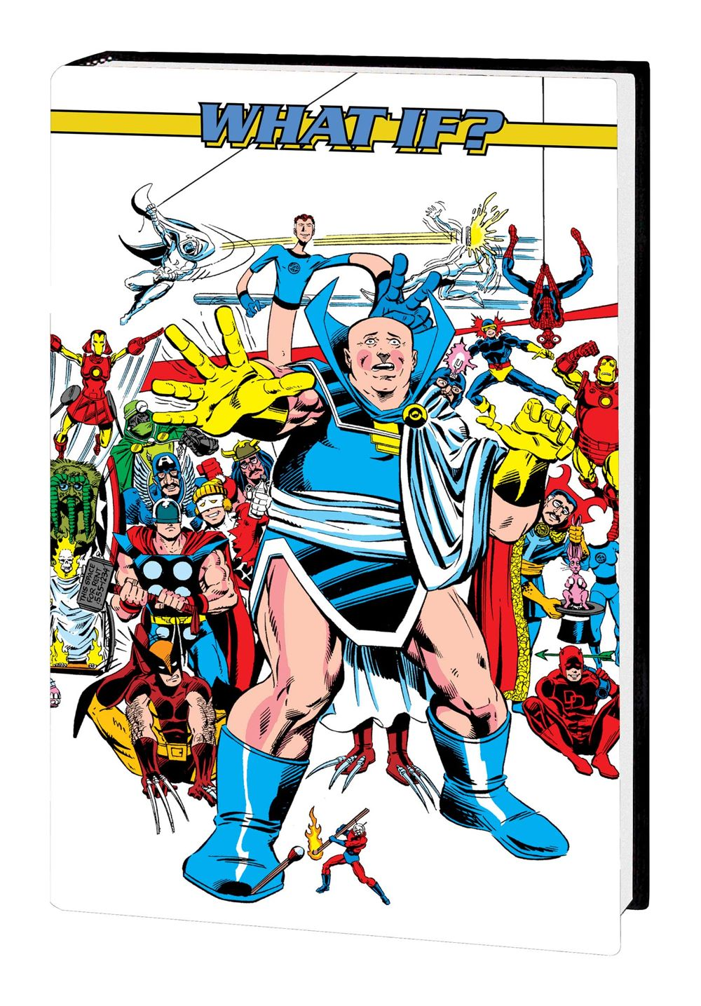 WHAOMSOMNI_V2_HC_DM_2 Marvel Comics August 2021 Solicitations