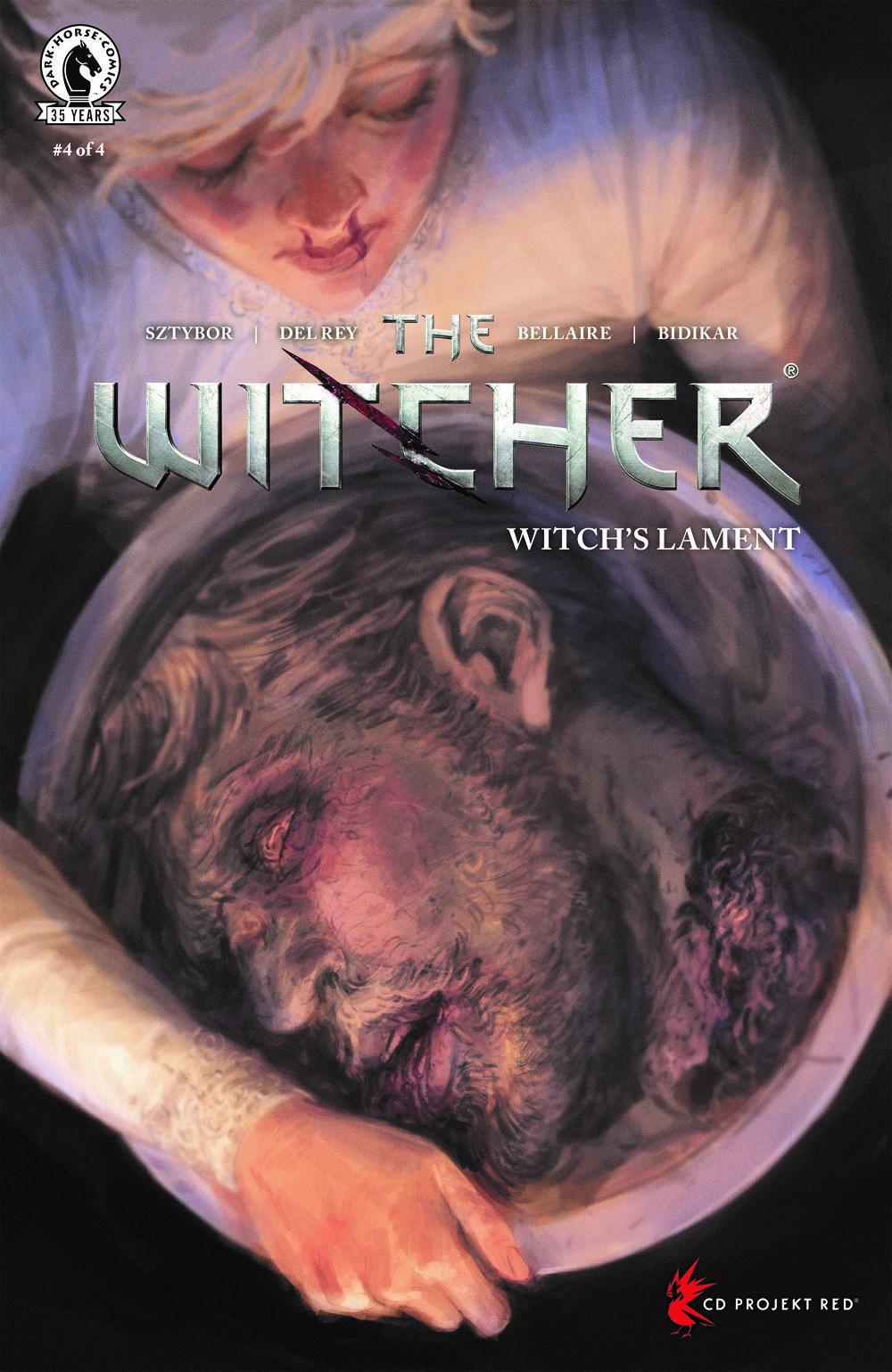 WITCHERWL_i4_CVR_4x6_A_SOL Dark Horse Comics August 2021 Solicitations