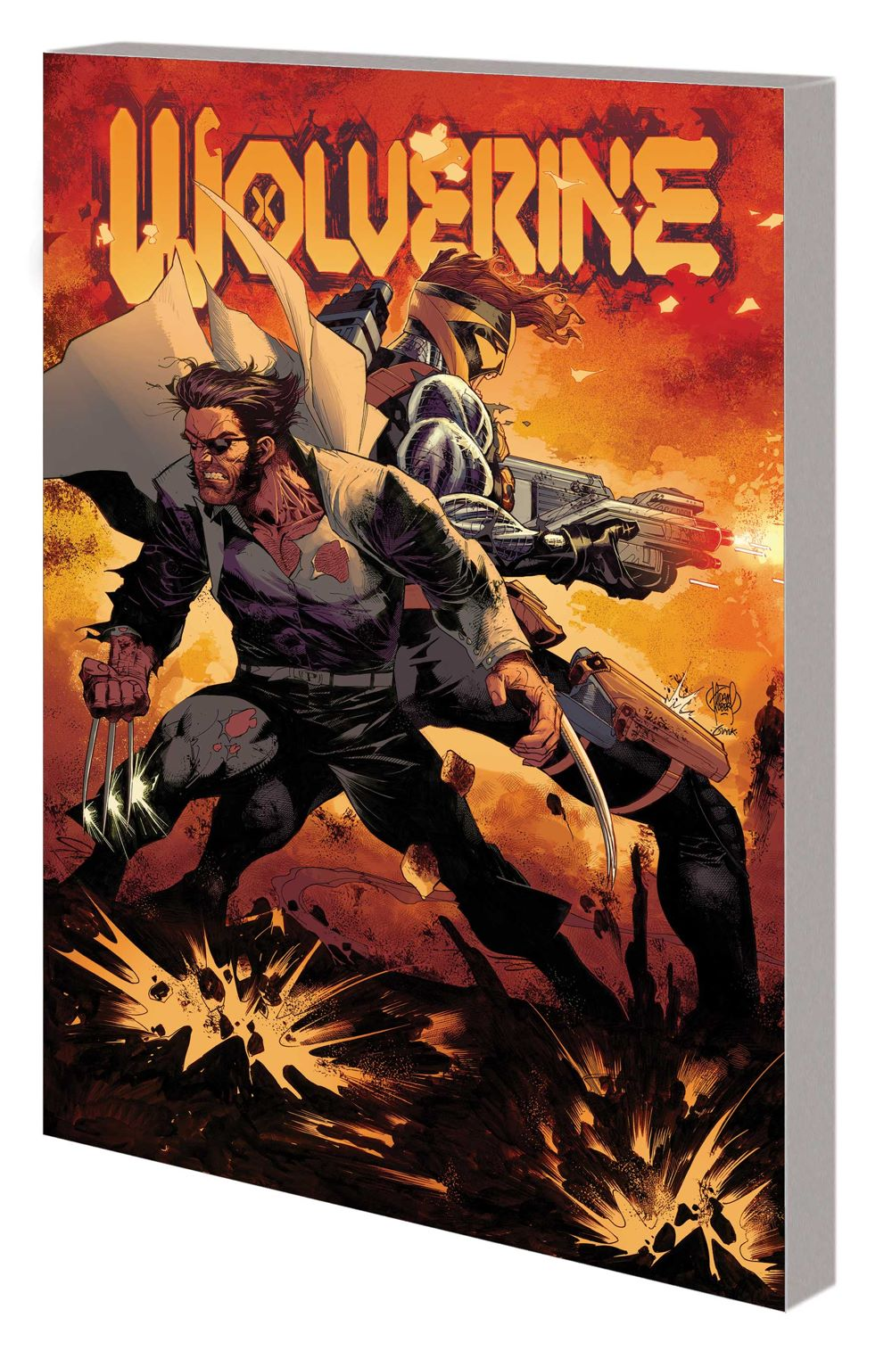 WOLV_VOL_2_TPB Marvel Comics August 2021 Solicitations