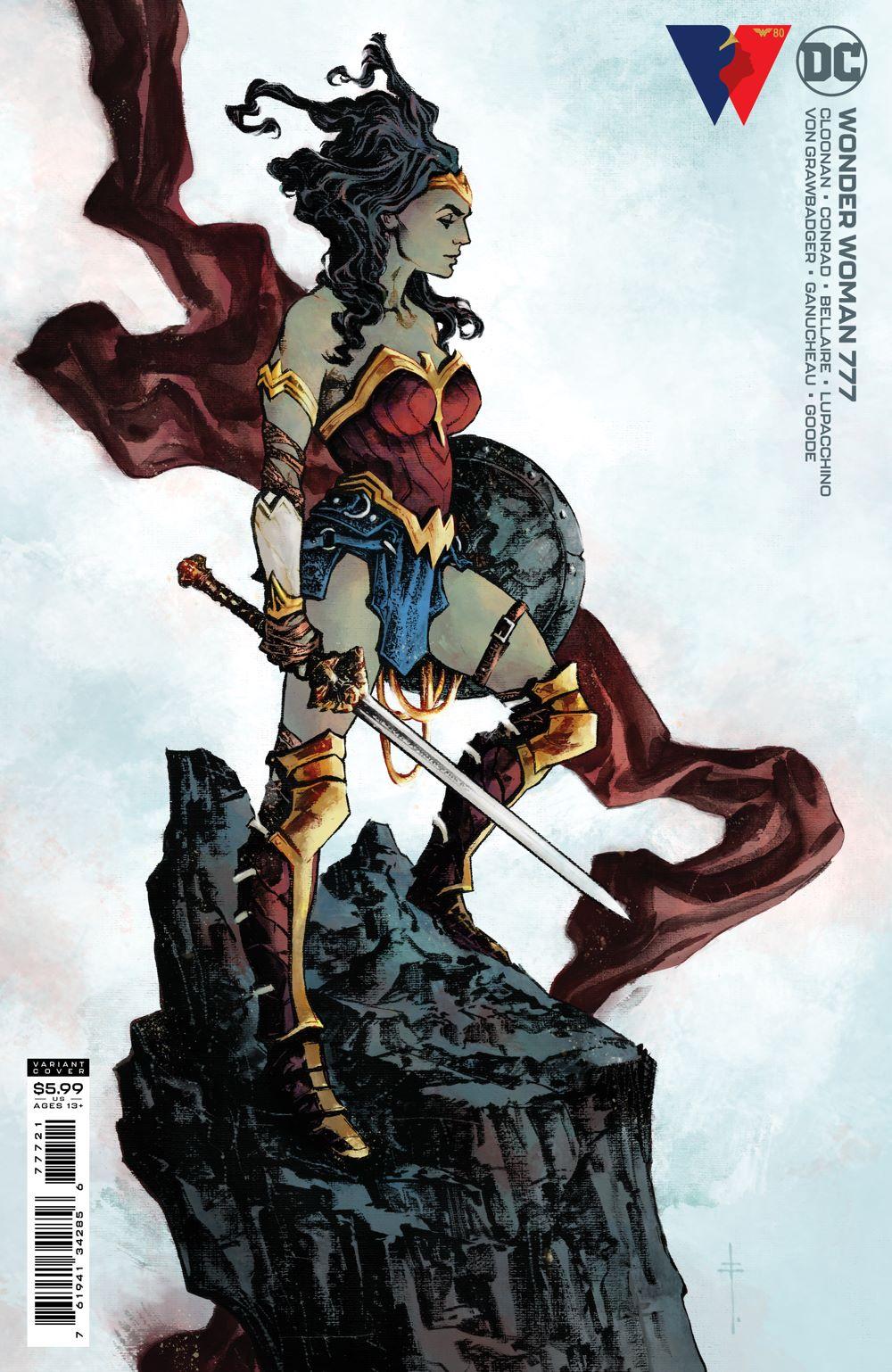 WONDERWOMAN_Cv777_var DC Comics August 2021 Solicitations