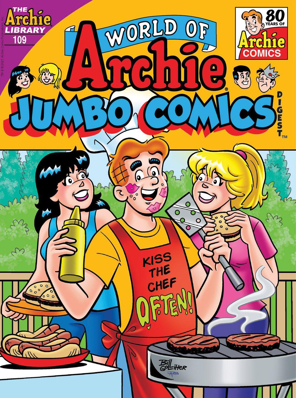 WorldOfArchieJumboComicsDigest_109_Cover_Golliher ComicList Previews: WORLD OF ARCHIE JUMBO COMICS DIGEST #109