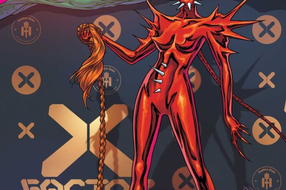 XFactor Russell Dauterman connects the Hellfire Gala covers this June