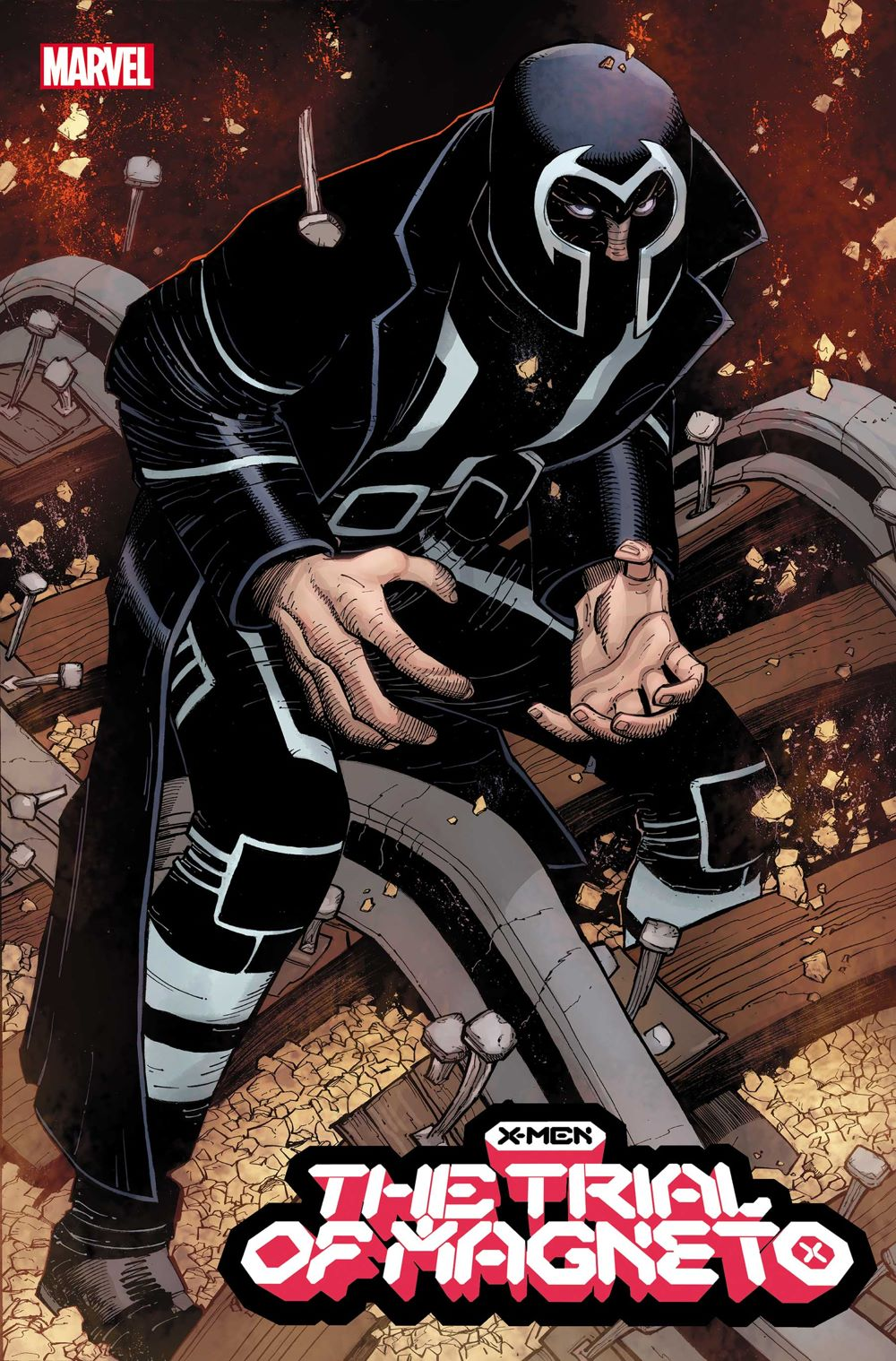 XMENTRIAL2021001_Romita_Var Marvel Comics August 2021 Solicitations