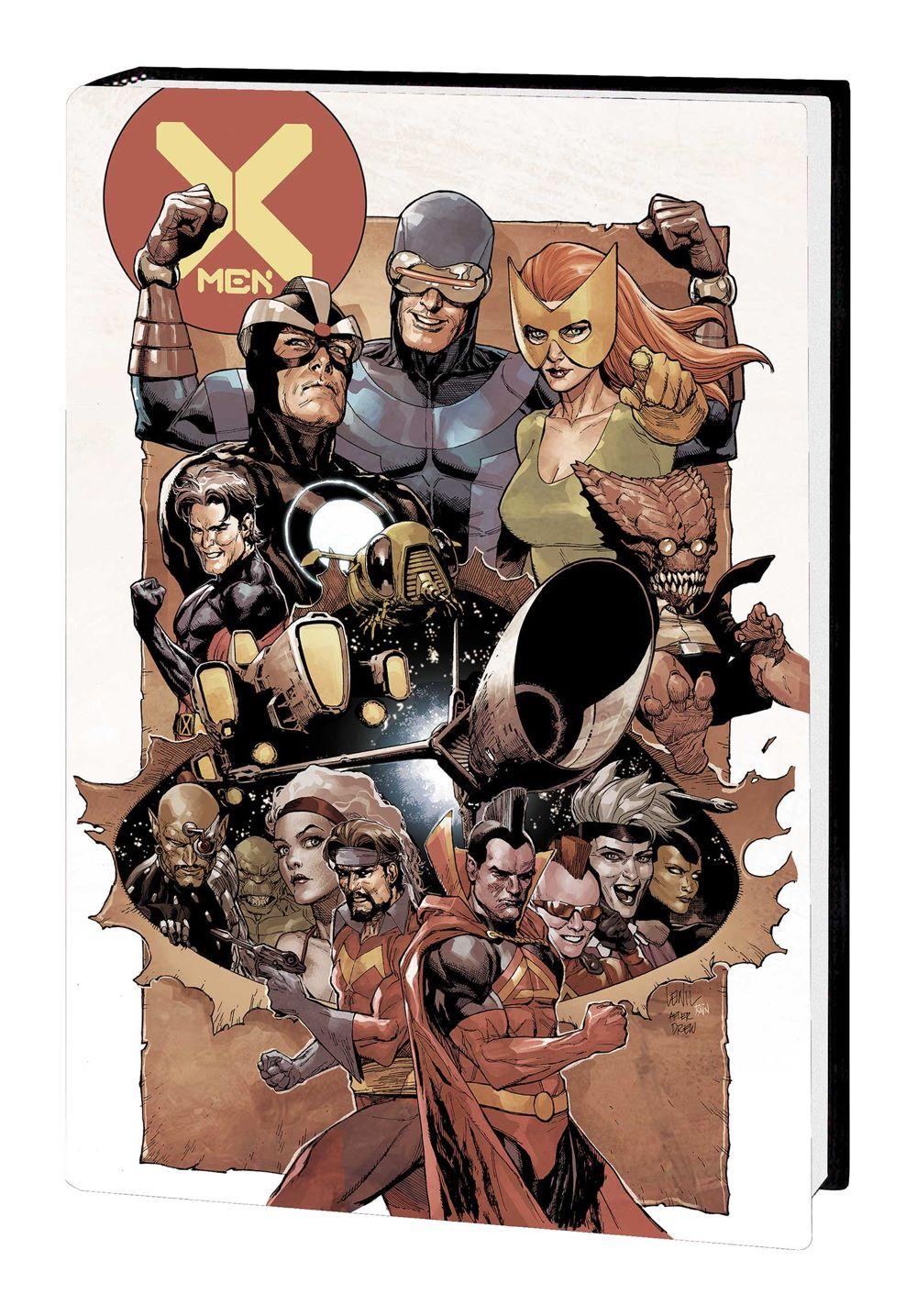 XMEN_JH_OMNIBUS_HC_YU Marvel Comics August 2021 Solicitations