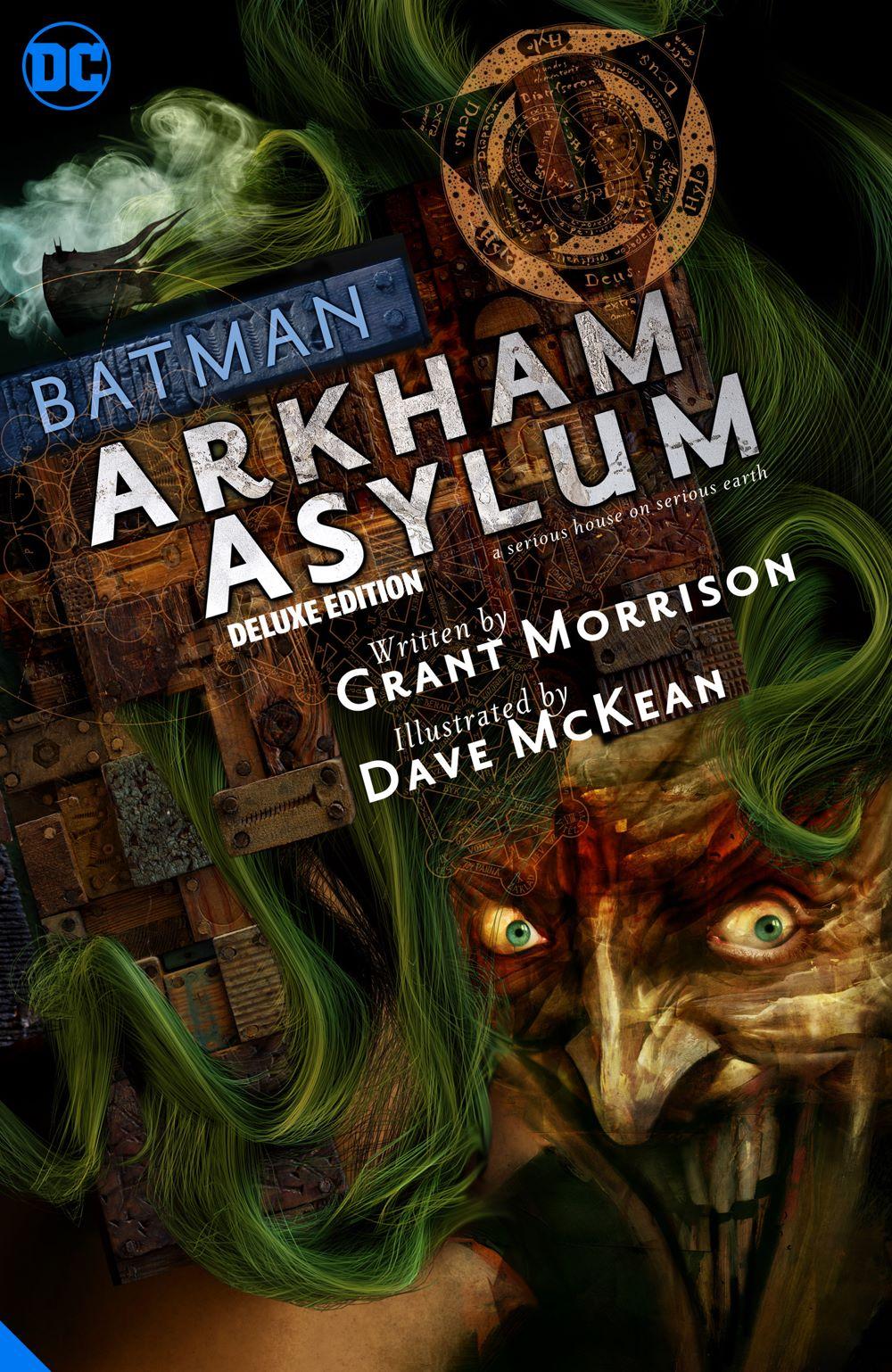 batmanarkhamasylum-dlx_adv DC Comics August 2021 Solicitations