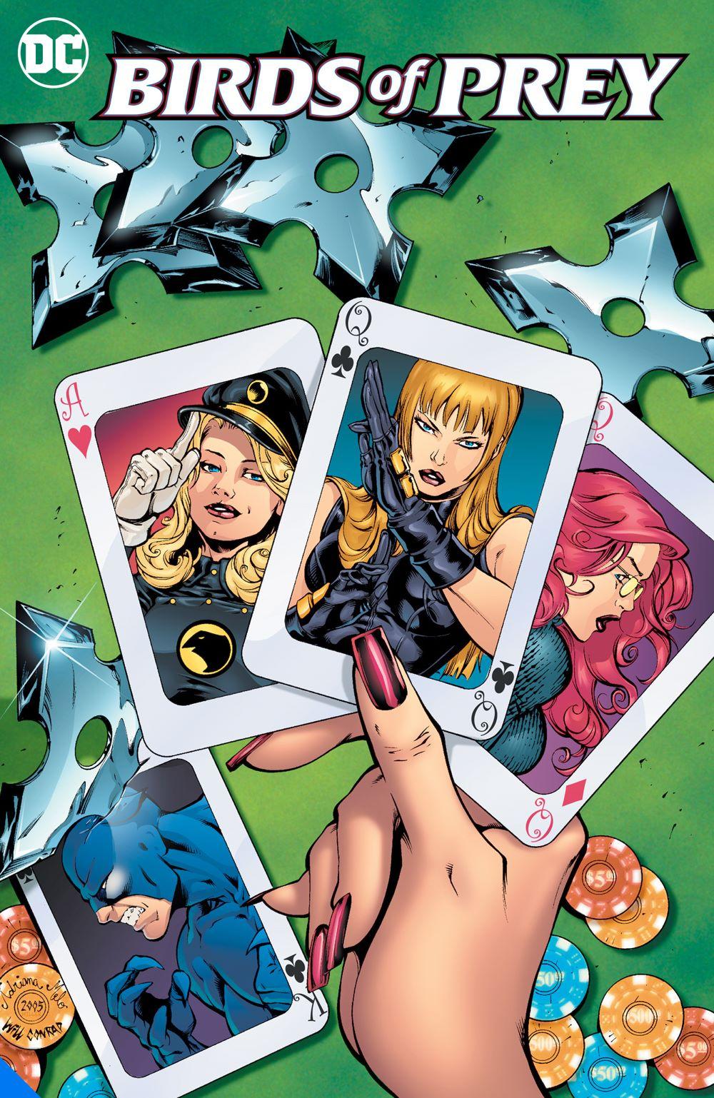 birdsofpreyfightersbytrade_adv DC Comics August 2021 Solicitations