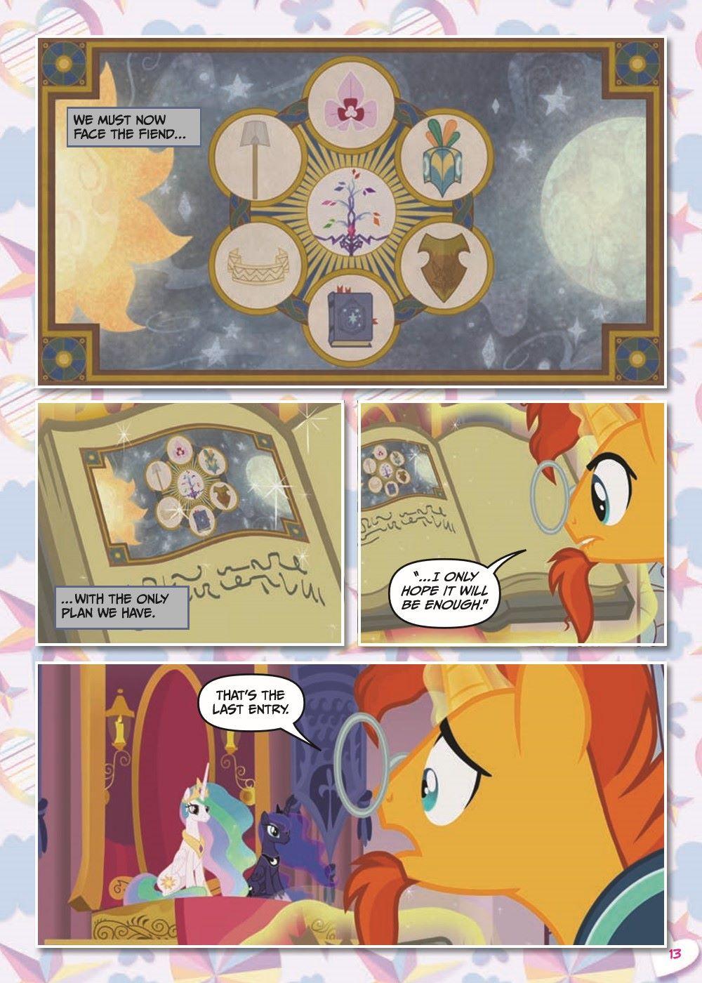 mlp-animatedV14-pr-8 ComicList Previews: MY LITTLE PONY VOLUME 14 SHADOWPLAY TP