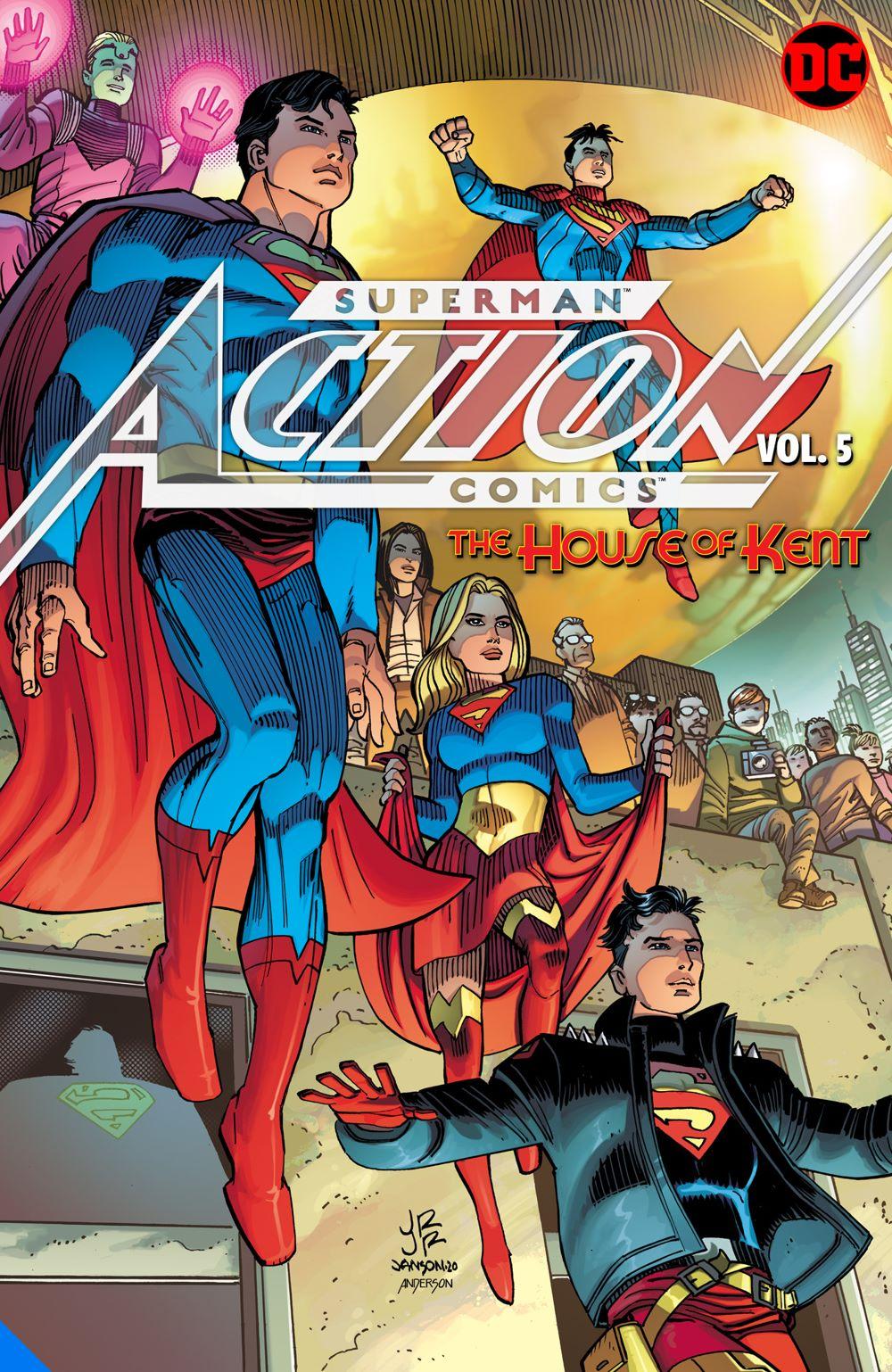 supermanactioncomics-vol5_adv DC Comics August 2021 Solicitations