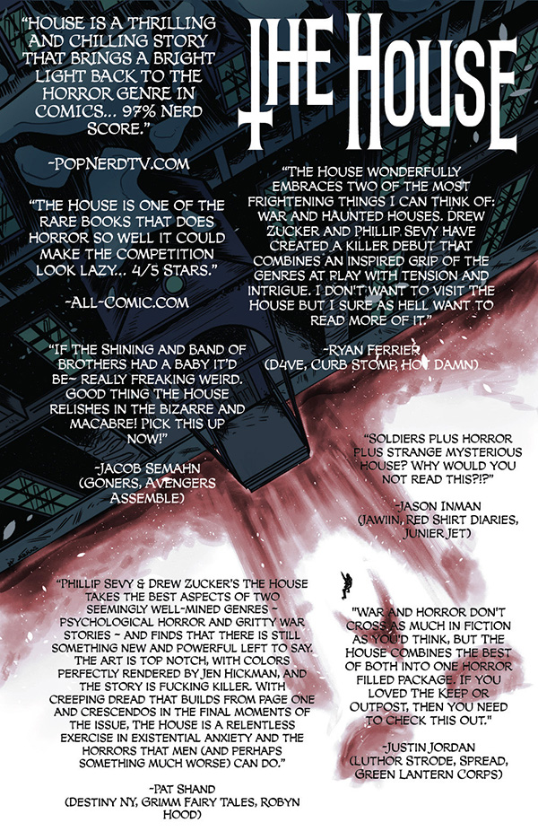 thehousequotes2 Digital series THE HOUSE to be collected in trade paperback
