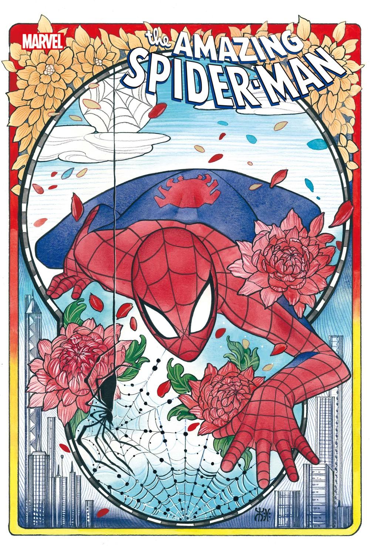 ASM2018074_Momoko_var Marvel Comics September 2021 Solicitations