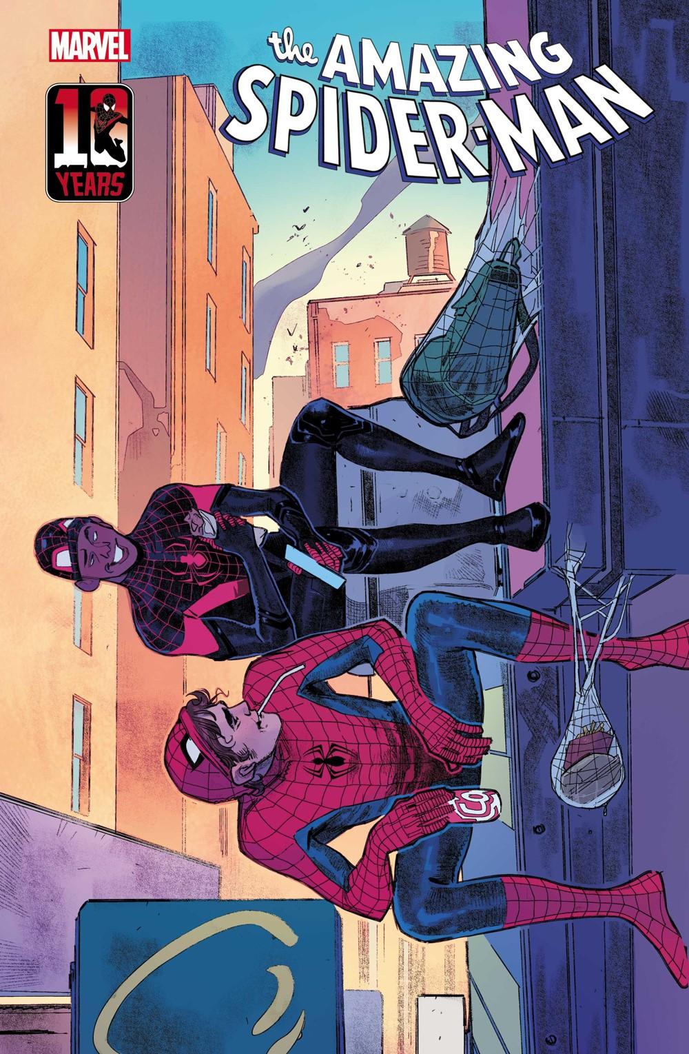 ASM2018074_Pichelli_Miles_VAR Marvel Comics September 2021 Solicitations