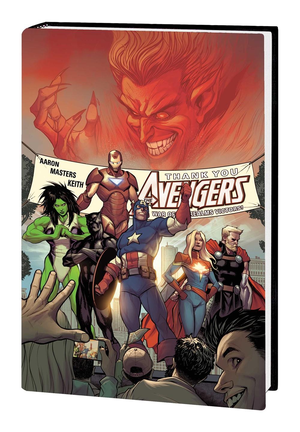 AVENGERS_JA_VOL_2_HC Marvel Comics September 2021 Solicitations