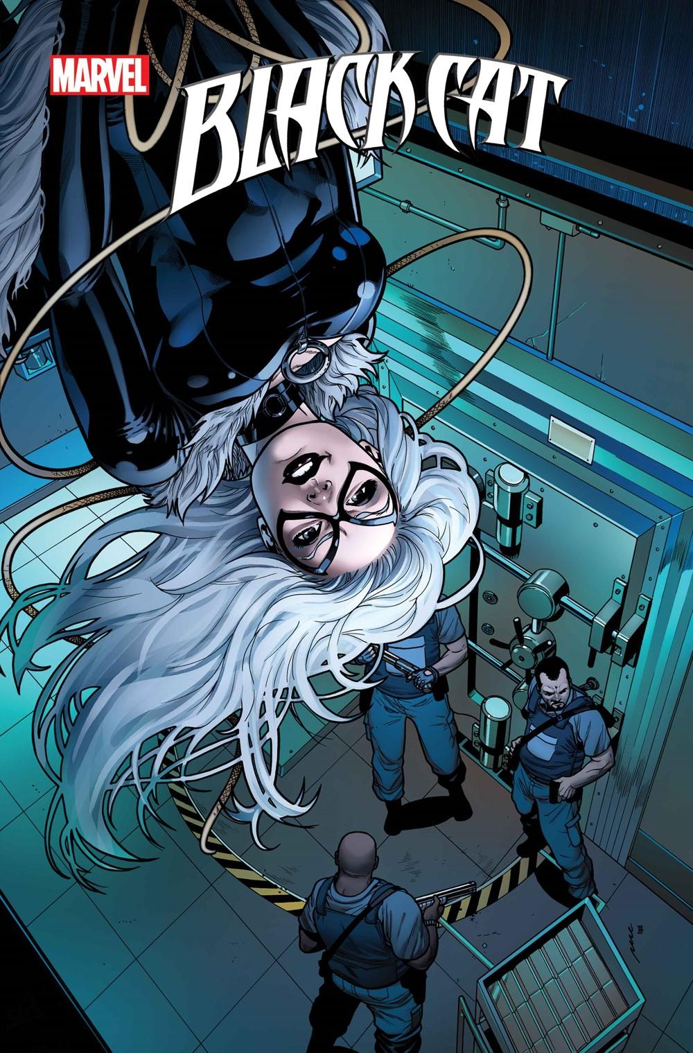 BLACKCAT2020010_Perez_VAR Marvel Comics September 2021 Solicitations