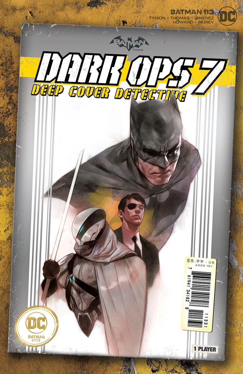 BM_Cv113_1in25_var DC Comics September 2021 Solicitations